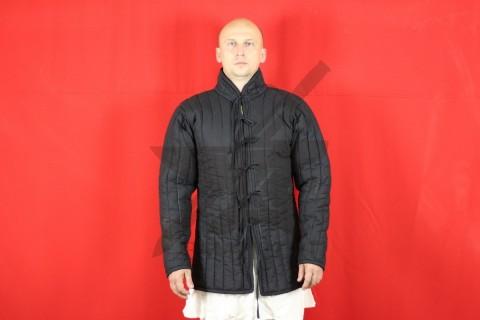Стеганая куртка, 2 слоя, длина 80 см, х/б