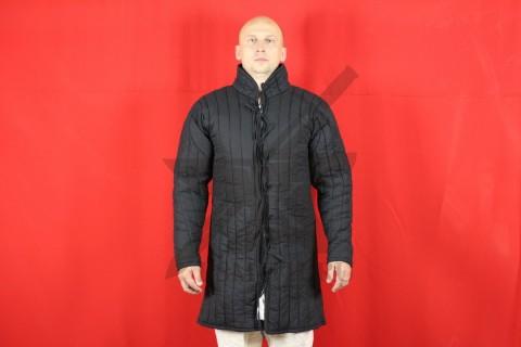 Стеганая куртка, 2 слоя, длина 100 см, х/б