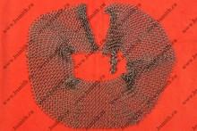 Бармица открытая сведенная, кольца 1.6х9 мм, фото 1