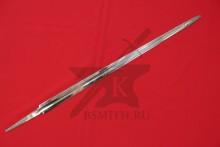 Клинок романского меча полированный