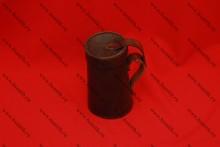 Кружка кожаная с крышкой, фото 6