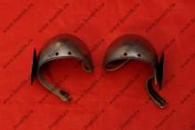 Налокотники с ронделями, стальные, фото 1