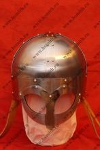 Шлем из Гьёрмундбю упрощенный, подбородочные ремни, фото 1