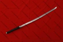 Катана турнирная с долом, прорезная цуба, вариант 3, общий вид