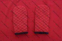 Варежки стеганые, 2 слоя, грета, вариант 2