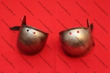 Наколенники миланские с лепестком, вариант 2, фото 1