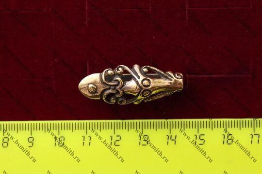 Крепеж для пояса, Готланд, 10-11 век, размеры