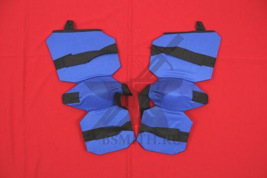 Защита ног 3/4 для СМБ, синяя