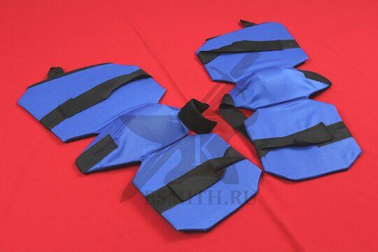 Защита ног 3/4 для СМБ, синяя, фото 2