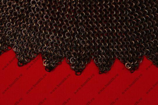 Бармица клепано-сеченая круговая расклиненная с фестонами, фото 2