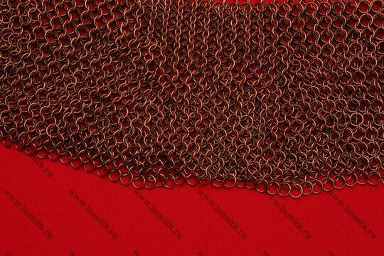 Бармица круговая расклиненная омедненная, 1.6х9 мм, фото 2
