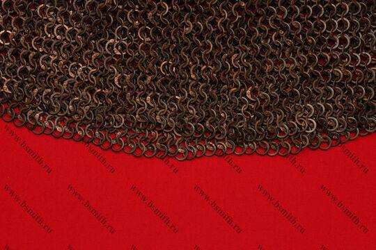 Бармица клепано-сеченая круговая расклиненная, фото 2