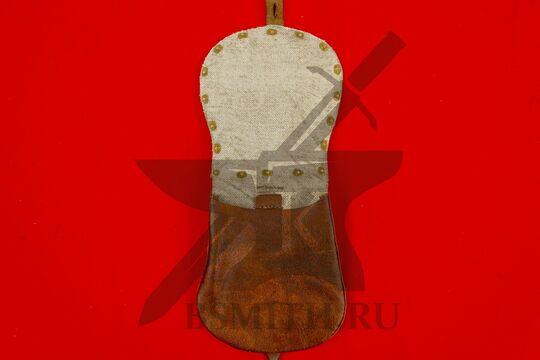 Сумка венгерская с чеканкой, коричневая, подкладка лен, фото 2