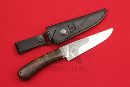 """Нож """"Барибал"""", рукоять наборная кожа, с ножнами"""