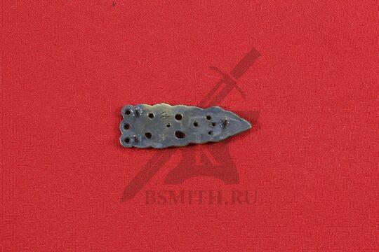 Хвостовик, Скандинавия, 10 век, обратная сторона