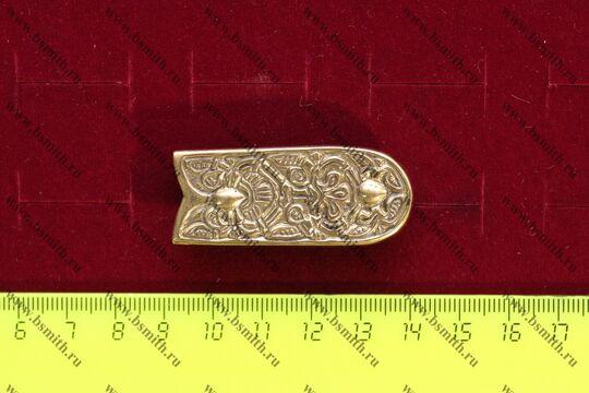 Хвостовик, Варбю, Швеция, 9-10 век, размеры