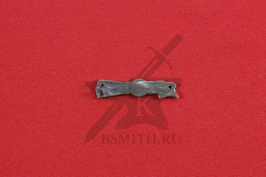 Хвостовик для ремня, Готланд 10-11 век, обратная сторона