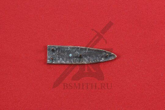 Хвостовик для ремня, Скандинавия, 10-11 век, обратная сторона