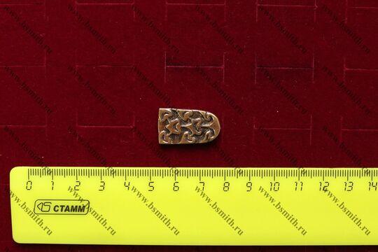 Хвостовик для ремня, Хазары, 8-10 век, размеры