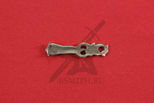 Хвостовик для ремня, Готланд, 9-10 века, обратная сторона