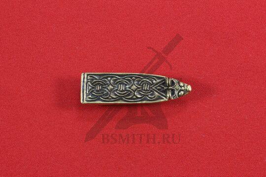Хвостовик для ремня, Гнездово, Бирка, 9-10 века