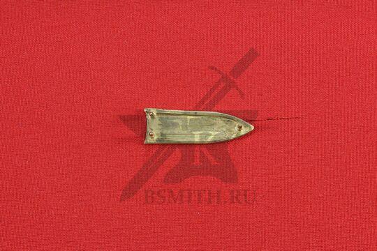 Хвостовик, Русь (Новгород), 12 век, обратная сторона