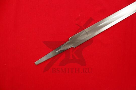 Клинок романского турнирного меча, хвостовик крупно