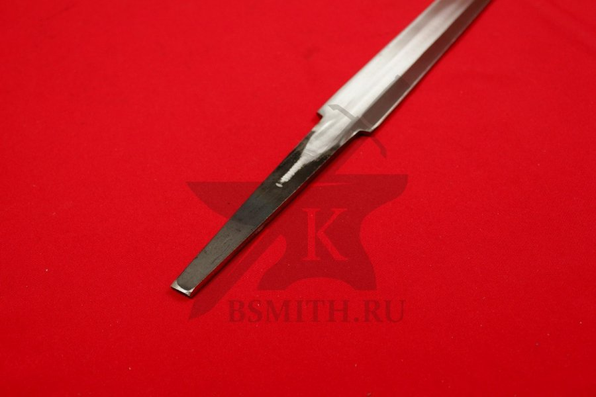 Клинок романского турнирного меча, хвостовик крупно, фото 2