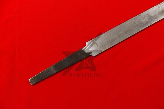 Клинок полуторного тренировочного меча, хвостовик крупно
