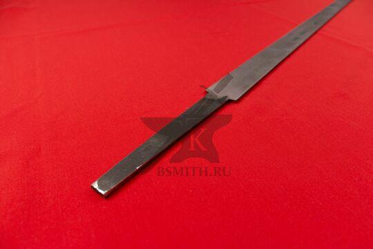 Клинок полуторного тренировочного меча, хвостовик крупно, фото 2