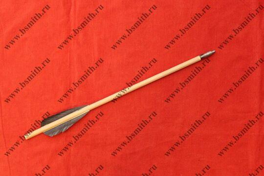 Болт арбалетный, 35 см / 10 мм / 2 пера, фото 1
