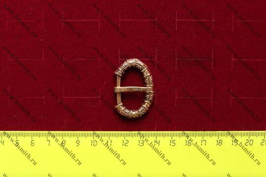 Пряжка, Бирка, 10 век, размеры