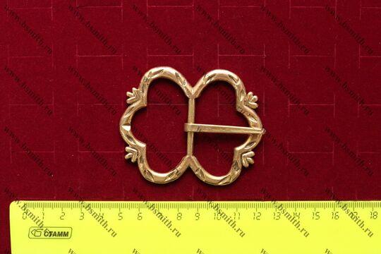 Пряжка, Англия, 14-15 век, размеры