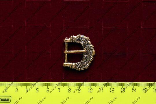 Пряжка, Готланд, 10-11 век, размеры