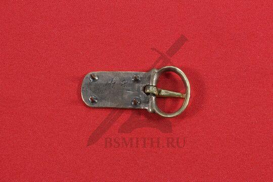 Пряжка, Русь, 9-11 века, обратная сторона