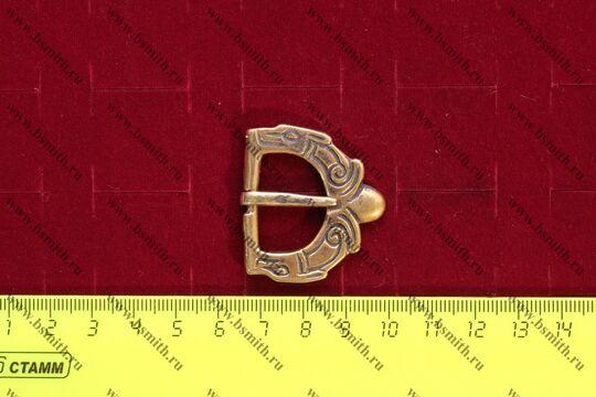 Пряжка, Англия, 11 век, размеры