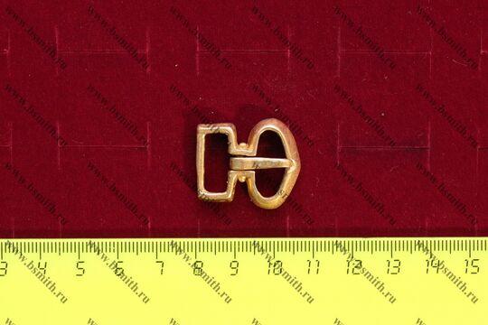Пряжка, Русь, 9-10 век, размеры