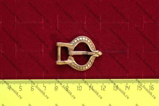 Пряжка, Готланд (Гротлингбю), 10-11 век, размеры