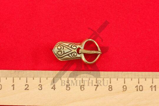 Пряжка, Русь, 11-12 века, размеры