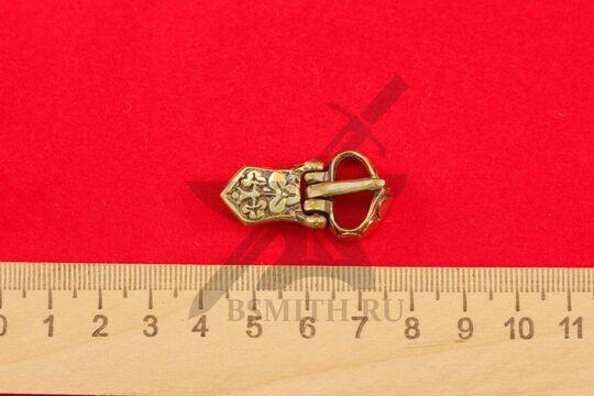 Пряжка, Салтово, 9-10 века, размеры