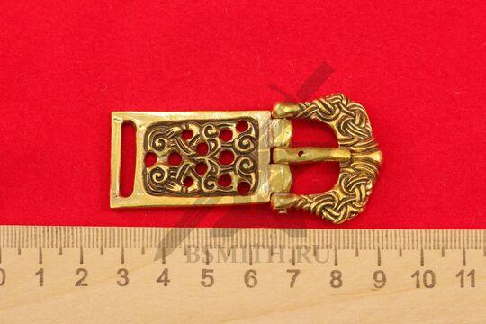 Пряжка, Готланд, 10-11 века, размеры