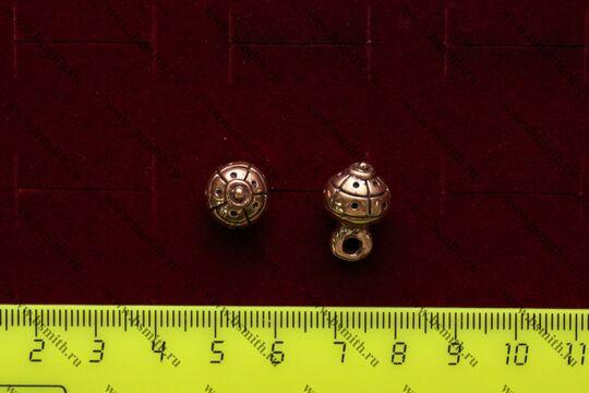 Пуговица, Русь, 13-15 века, фото 3