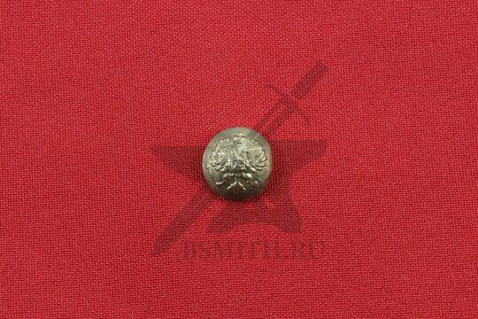 Пуговица с гербовым орлом, малая