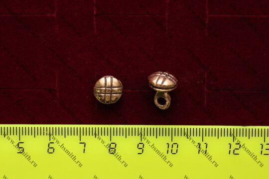 Пуговица, Скандинавия, Русь, 10-13 века, размеры