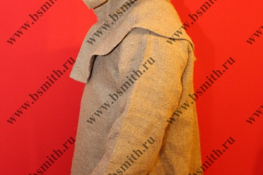 Балахон с худом, мешковина, фото 2
