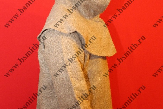 Балахон с худом, мешковина, фото 4