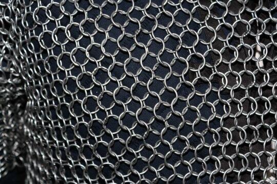 Кольчуга сведенная, кольца 1.6х10 мм, фото 5