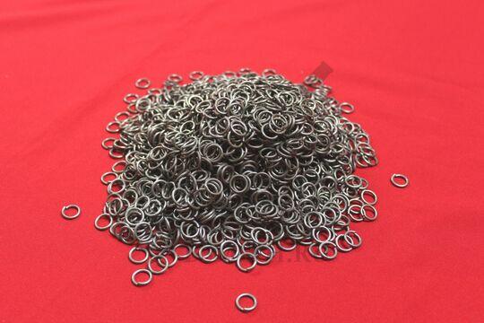 Кольца кольчужные 1.6х8 мм, 1 кг, фото 2