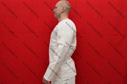 Камиза (нательная рубаха), бязь, вид сбоку