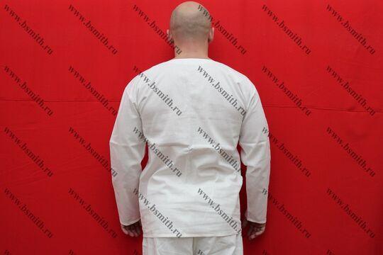 Камиза (нательная рубаха), бязь, вид со спины